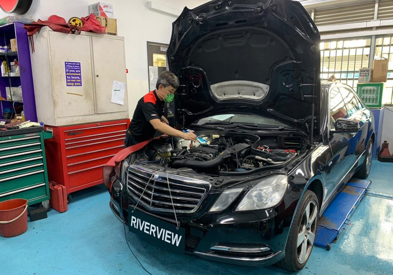 Mercedes-Benz Car Repair