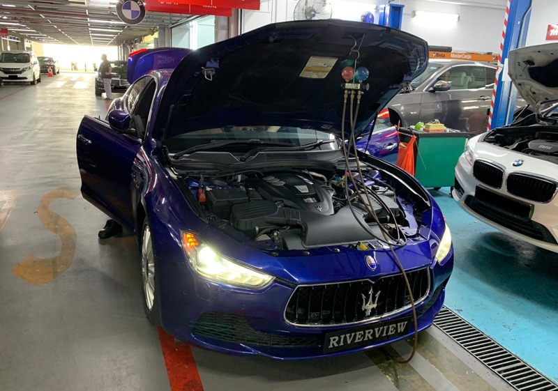 Troubleshooting and parts replacement for Maserati Ghibli