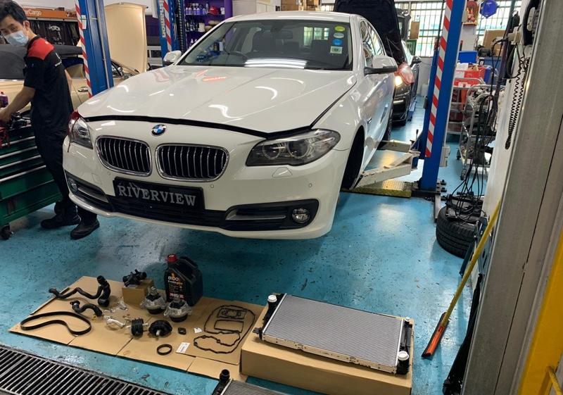 5+1 Servicing for BMW 520i