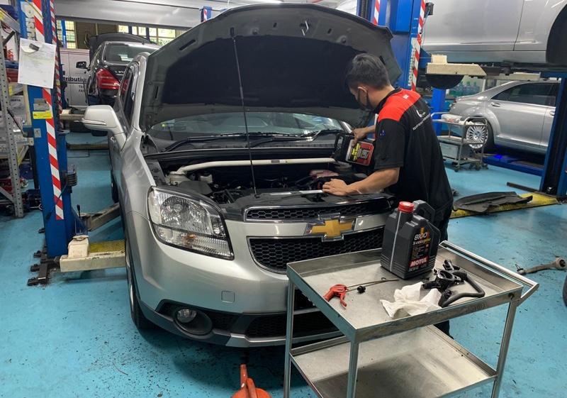 5+1 Servicing for Chevrolet Orlando