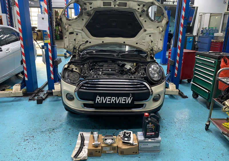 5+1 Servicing for Mini One