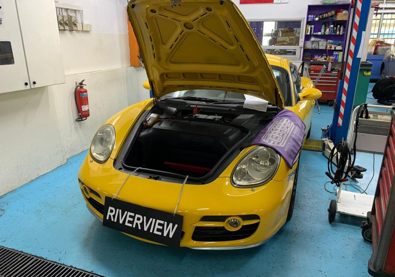 Porsche Cayman Car Repair