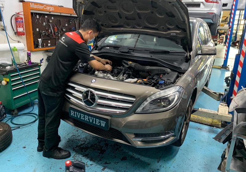 5+1 Servicing for Mercedes-Benz B200